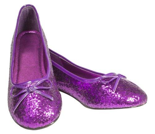 Purpletopia Violet Spangle Flats Size 12