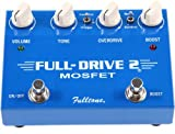 What's better than overdrive? MORE OVERDRIVE! That's what you get with the Fulltone Fulldrive2 MOSFET overdrive pedal. Two raging channels of drive and more drive make the Fulldrive2 MOSFET what it is. Start with a mellow, bell-like clean, uncompress...