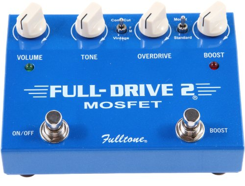 Fulltone Fulldrive2 MOSFET Overdrive Boost by Fulltone