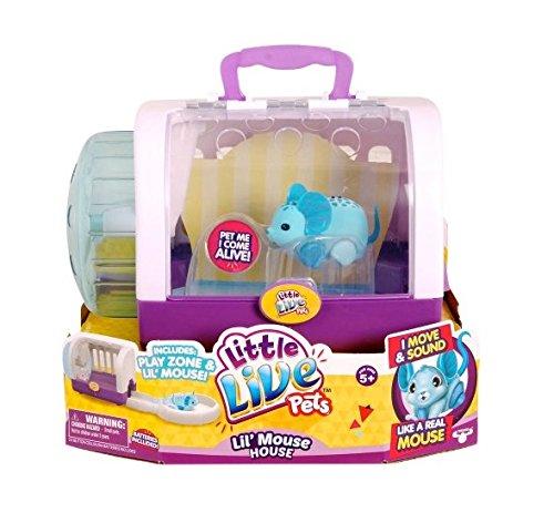 Moose Toys Little Live Pets S2 Lil Mouse House, Jungle Wonder