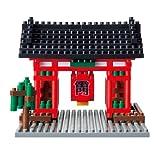 Nanoblock Kaminarimon Temple Building Kit