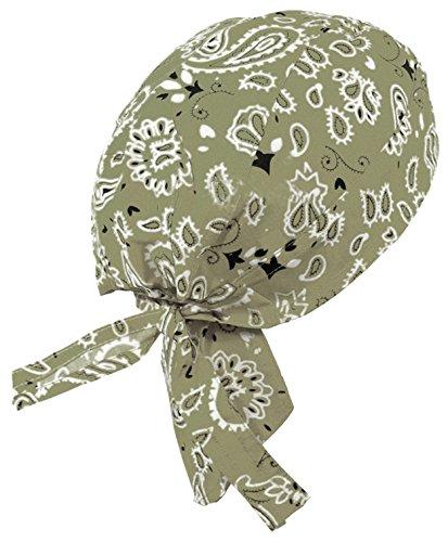 Paisley Doo Rag Du Rag Do Cotton Bandana Headwrap PICK COLOR Chemo Cap (Tan Paisley II) (Bandana Tan Paisley)