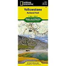 Yellowstone National Park 201 GPS Wyoming-Montana-Idaho: Ng.NP.201