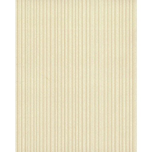 York Wallcoverings TN0050 Ticking Stripe Wallpaper Beiges