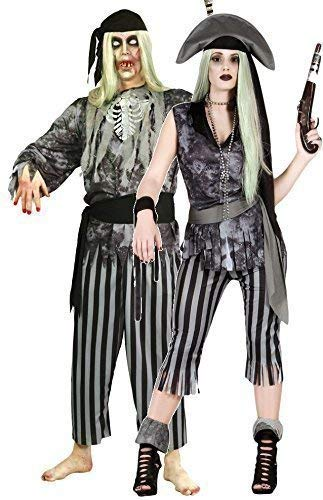 Vestito Uomo Coppia Outfit Fantasma Donna Taglia Large Dead Per Costumi Pirata Halloween Zombie E EEw0q4U