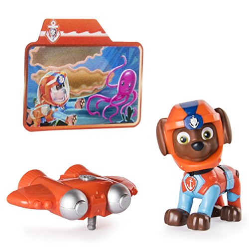 Paw Patrol Sea Patrol - Light Up Zuma with Pup Pack and Mission Card (Transforming Flash Light)