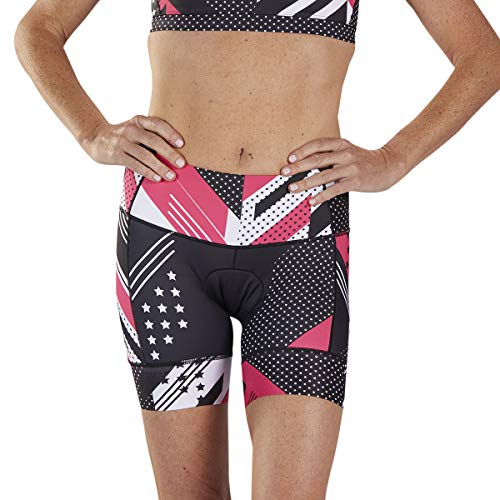 Zoot Women's LTD 6-Inch Tri Shorts - High Performance Triathlon Shorts with 3 Pockets (Team '19, Medium) ()