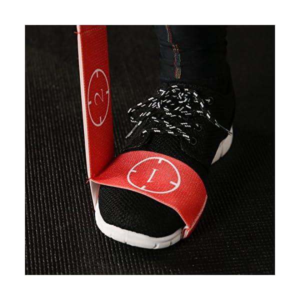 Ultrasport Nastro elastico, fitness per casa e palestra, adatto per pilates, ginnastica e stretching, lavabile in… 3 spesavip