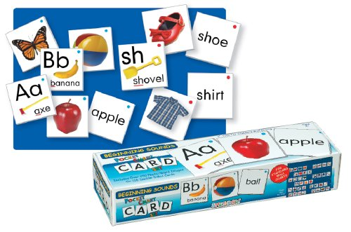 Lauri Pocket Chart Cards - Beginning Sounds -