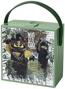 LEGO NEXO KNIGHTS Brotdose mit Tragegriff, Tragbare Aufbewahrungsbox, blau 40511734