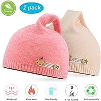 NIOFEI Baby Winter Beanie Hats for Unisex Baby Boys Girls