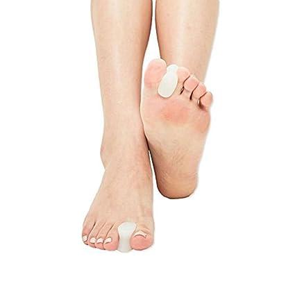 2 x pedimend médico silicona Gel Toe Spreader/Pantalla para juanete alivio del dolor - Bent Toes ...