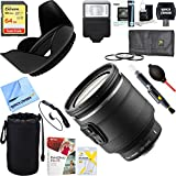 Beach Camera Nikon (3318) 1 NIKKOR 10-100mm f/4.5-5.6 VR Lens Black + 64GB Ultimate Filter & Flash Photography Bundle
