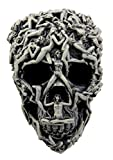 "Atlantic Collectibles Aphrodite Curse Erotic Female Ghosts Resin Skull Decorative Figurine 7.5""L"