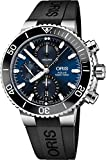 Oris Aquis Chronograph Stainless Steel with Ribber Strap Men's Watch