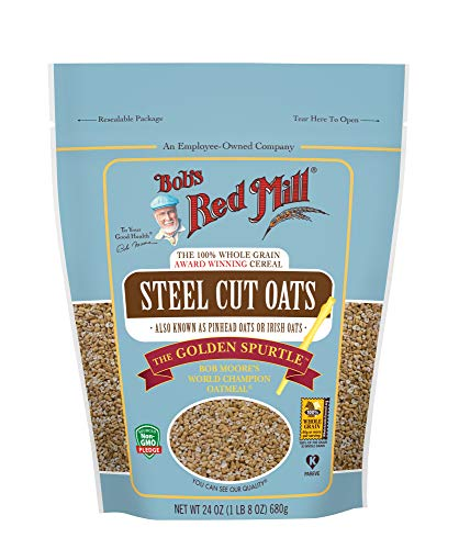- Bob's Red Mill Steel Cut Oats