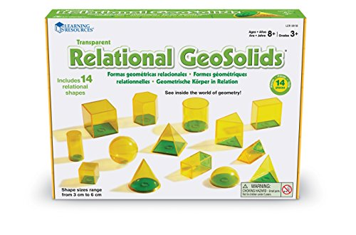 Learning Resources Relational Geometric Solids ()