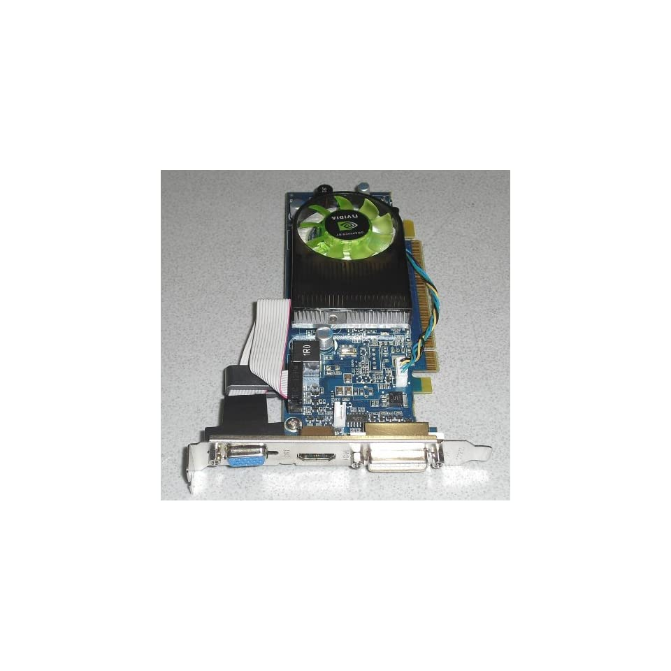 NVIDIA GEFORCE GT120 1GB DUAL DISPLAY DVI VGA HDMI PCI E VIDEO CARD