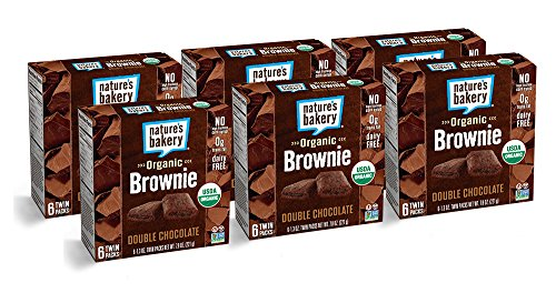 Chocolate Organic Brownie (Nature's Bakery Organic + non-GMO, Brownie, Double Chocolate (36 Count))