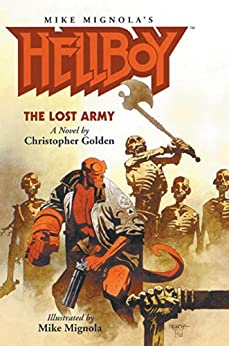 Hellboy Lost Army Christopher Golden ebook product image