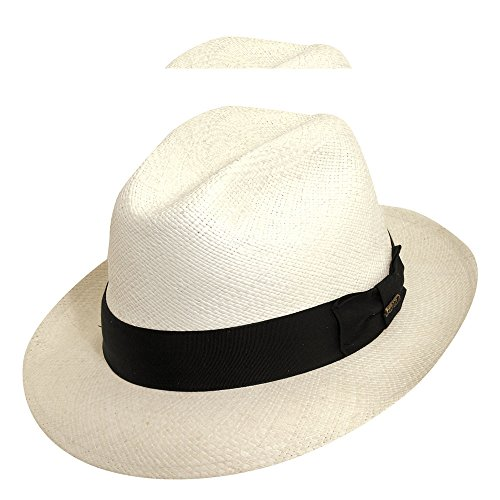 Scala Classic Hat (Scala Panama Men's Snap Brim Fedora)