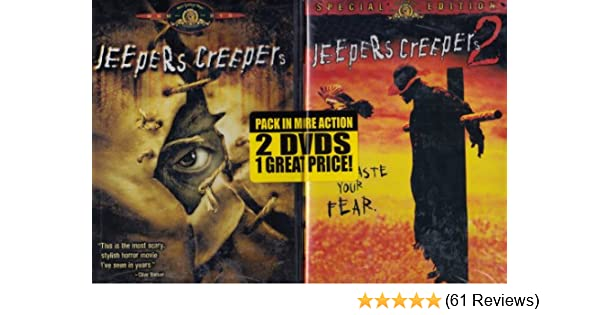 Amazon com: NEW Jeepers Creepers 1&2 (DVD): Movies & TV