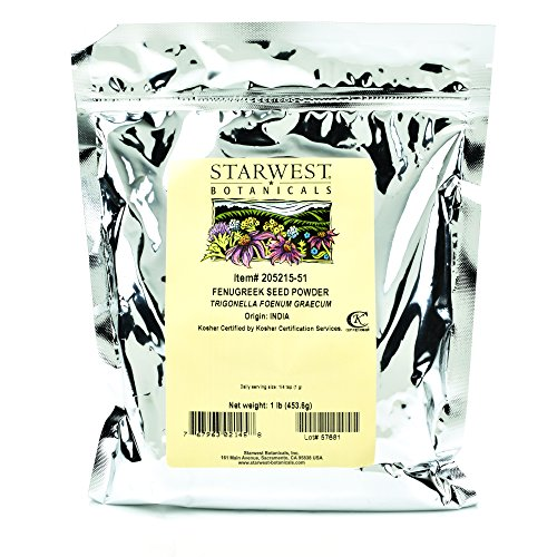 Starwest Botanicals Fenugreek Powder Pound product image