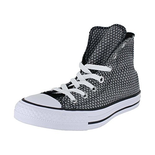 CONVERSE WOMENS ALL STAR HI SHOES WHITE BLACK WHITE SIZE 6.5