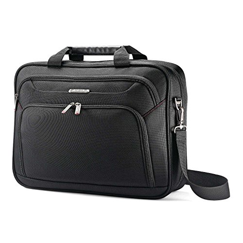 (Samsonite Xenon 3.0 Single Gusset Techlocker Laptop Bag, Black, One Size)