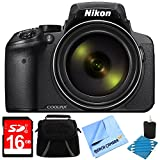 Nikon COOLPIX P900 16MP 83x Super Zoom Digital Camera Full HD Black 16GB Bundle – Includes Camera, 16GB Secure Digital SD Memory Card, Gadget Bag, Cleaning Kit and Cleaning Pen & Microfiber Cloth Review