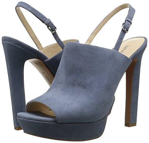 f52e9a78bdc Nine West Women s Lailah Suede Heeled Sandal - Buy Online in Oman ...