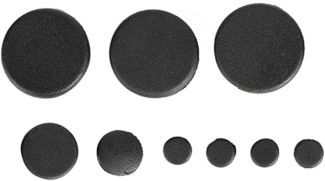 Hlyjoon Frame Hole Plug 10 PCS Motorcycle Frame Hole Cover Caps Plug Kit Decor Frame Hole Plug Cover Round Plastic Hole Covers for GSXR 600 750 2006-2010