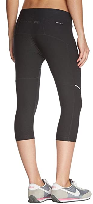 Nike Dri Fit Filament 34 Capri Damen Running Tights 519841