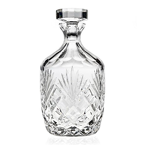 Godinger Berkshire Clear Crystal 36-ounce Whiskey Decanter by Godinger