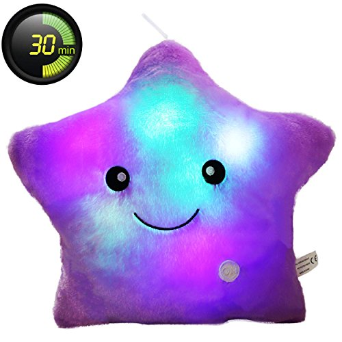 Star Led Light Pillow