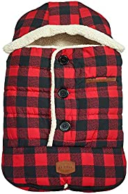JJ Cole - Urban Bundleme, Canopy Style Bunting Bag to Protect Baby from Cold and Winter Weather in Car Seats a