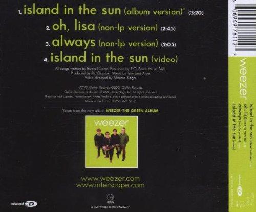 Weezer Island In The Sun Amazon Music