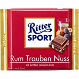 ritter sport marzipan chocolate 100g bar. Black Bedroom Furniture Sets. Home Design Ideas