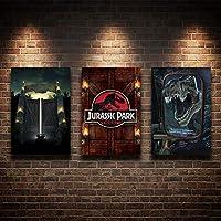 Placas Decorativas Jurassic Park