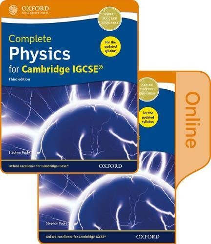 Complete Physics for Cambridge IGCSERG Print and Online Student Book Pack (CIE IGCSE Complete Series)