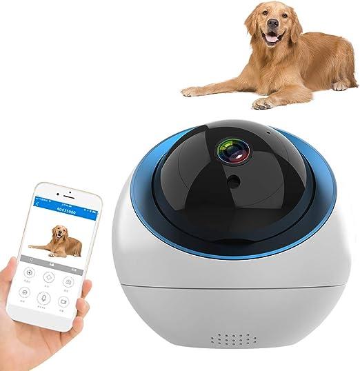 Decdeal 1080P WiFi Cámara para Mascotas con Visión Nocturna IR ...