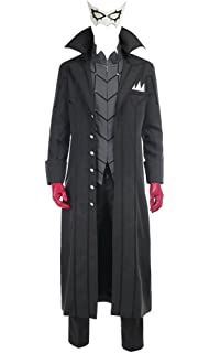 Amazon.com: VOSTE P5 Akira Kurusu Cosplay Costume Joker ...