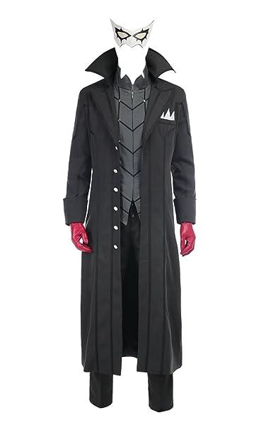 Amazon Com Springcos Men S Costumes For Persona 5 Joker