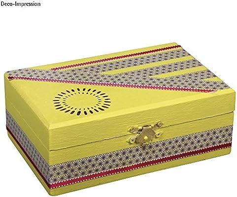 Rayher 62295000 Estuche de Madera FSC Mix Credit, 15 x 10 x 5,5 cm: Amazon.es: Hogar