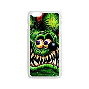 Green Crocodile Cartoon Cute WhiteiPhone 6 case