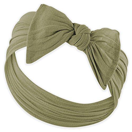 YOUR NEW FAVORITE BABY HEADBANDS - Super Stretchy Knot Baby Headband For Newborn Headbands and Baby Girls Headbands - Parker Kids Bows