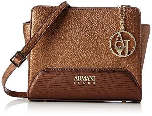 Bronzo Tracolla Baguette Armani H Women's 19x8x16 B Braun cm Borsa T x Jeans SwYqnqCAT