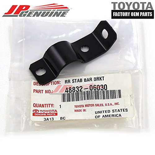 Genuine OEM Toyota Rear (Lh) Stabilizer Bar Clamp Bracket 48832-06030 New