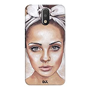 DailyObjects Anni Headscarf Case For Motorola Moto G4/Moto G4 Plus