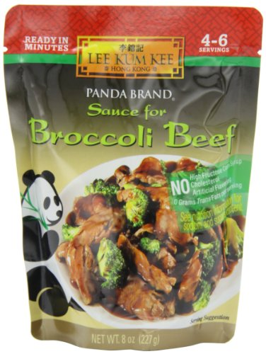 Fry Marinade Stir (Panda Sauce For Broccoli Beef, 8-Ounce (Pack of 6))